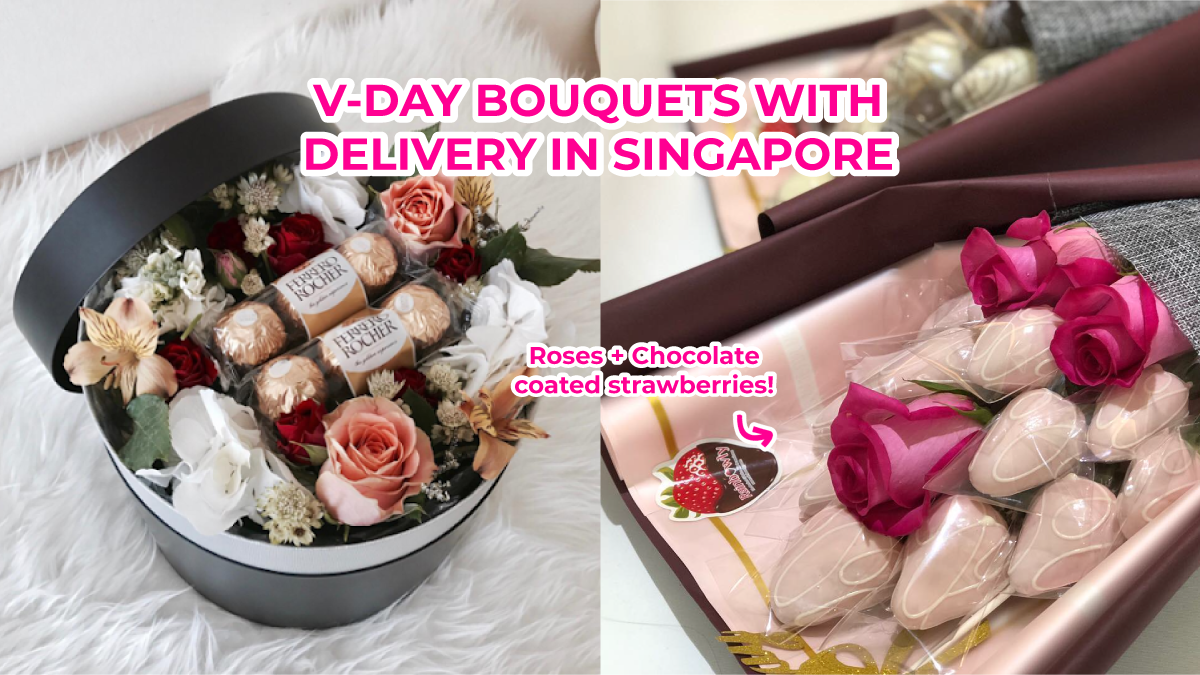 12 Valentine S Day Flower Bouquets With Delivery Services In Singapore 2020 Trialsaurus